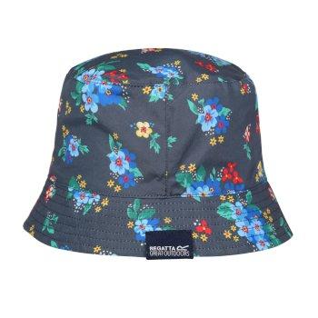 Jaliyah regensicherer Bucket-Hut für Damen Blau