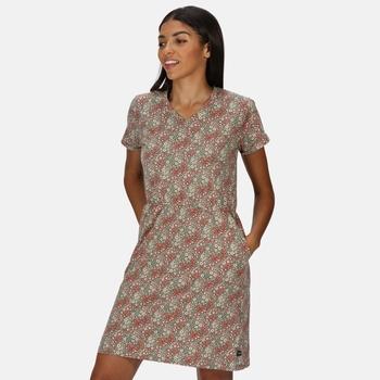 Havilah Coolweave-Jerseykleid für Damen Grün