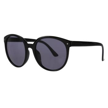 Zalika adrette, runde Sonnenbrille für Damen Schwarz