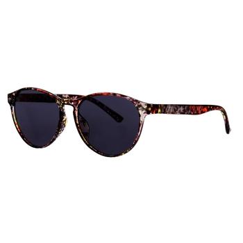 Salvadora adrette, runde Sonnenbrille für Damen Blau