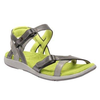 Regatta Women's Santa Cruz Sandals Granite Lime Fizz
