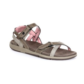 Regatta Women's Santa Cruz Strap Sandals - Walnut Mellow Rose