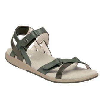 Santa Cruz Riemchen-Sandale für Damen Grün