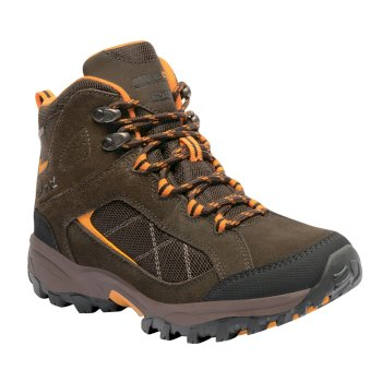 Regatta Women's Clydebank Mid Walking Boots - Aztec Brown Zinnia
