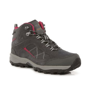 Regatta Women's Clydebank Mid Walking Boots - Brair Dark Cerise