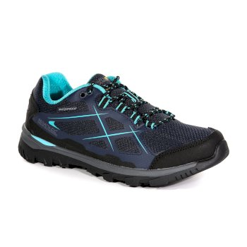 Regatta Women's Kota Low Walking Shoes Navy Blazer Aqua