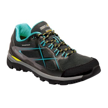 Regatta Women's Kota Low Walking Shoes Black Atlantis