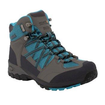 Regatta Women's Samaris Mid Hiking Boots Enamel Charcoal