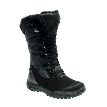 Regatta Women's Newley Casual Snow Boots Black