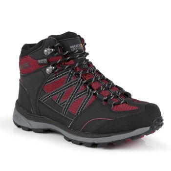 Regatta Women's Samaris II Mid Waterproof Walking Boots - Beetroot Ash