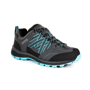 Women's Samaris II Low Walking Shoes Briar Azure Blue