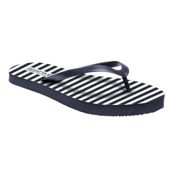 Regatta Women's Bali Flip Flops Navy White