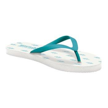 Bali Flip-Flops für Damen Azure Blue White