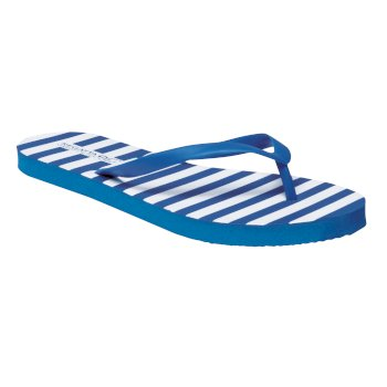 Regatta Women's Bali Flip Flops - Strong Blue White