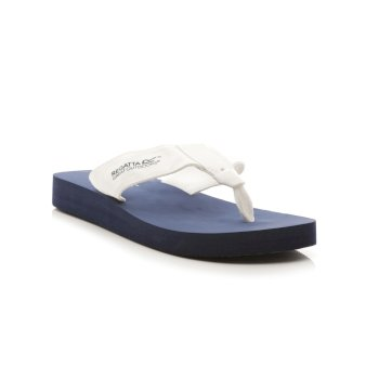 Regatta Women's Catarina Flip Flops - Navy White