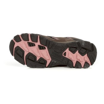 Regatta Women's Holcombe IEP Mid Waterproof Walking Boots - Indian Chestnut Cameo