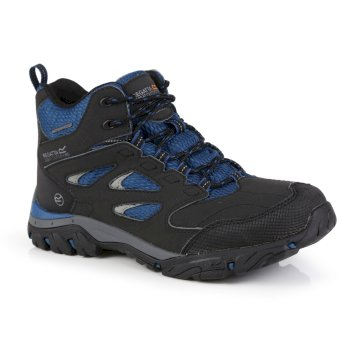 Regatta Women's Holcombe IEP Mid Waterproof Walking Boots - Ash Blue Opal