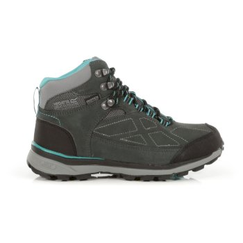 Regatta Women's Samaris Suede Mid Waterproof Walking Boots - Briar Atlantis