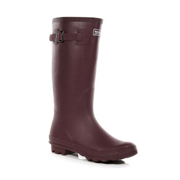 Regatta Women's Fairweather II Wellingtons - Burgundy