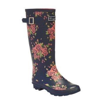 Regatta Women's Fairweather II Wellingtons - Navy Floral