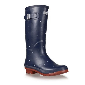Regatta Women's Fairweather II Wellingtons - Navy Tikka