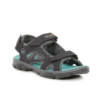 Regatta Women's Holcombe Vent Sandals - Ash Ceramic Blue
