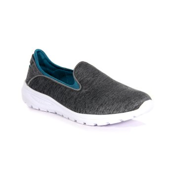 Regatta Women's Marine Slip-On Shoes - Grey Marl Enamel