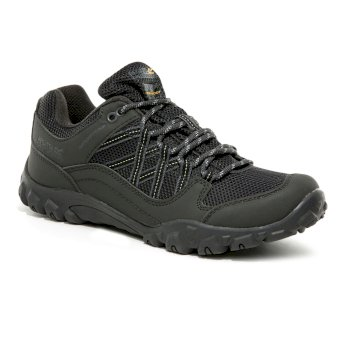 Regatta Women's Edgepoint III Low Waterproof Walking Shoes - Ash Granite