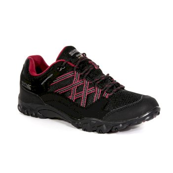 Regatta Women's Edgepoint III Walking Shoes - Black Beaujolais