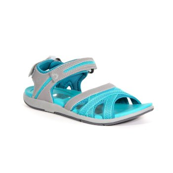 Regatta Women's Santa Clara Sandals Rock Grey Ceramic