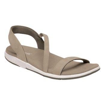 Santa Louisa Leder-Sandalen für Damen Braun