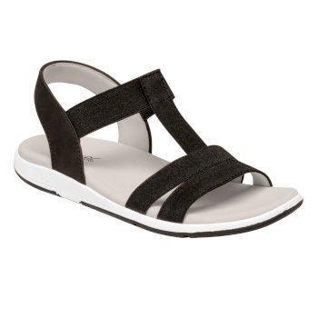 Women's Santa Maria Lightweight Sandals Schwarz
