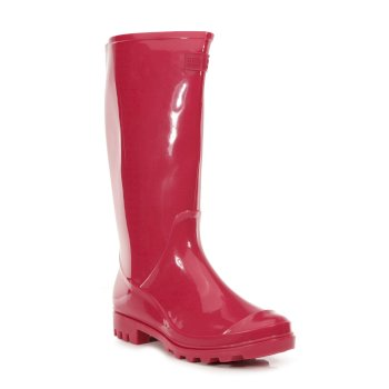Regatta Women's Wenlock Wellingtons - Dark Cerise
