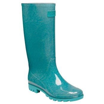 Regatta Women's Wenlock Wellingtons - Turquoise Tea Tree