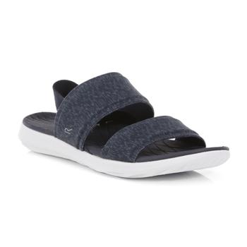 Tia leichte Slip-On-Sandalen für Damen Blau