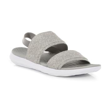 Tia leichte Slip-On-Sandalen für Damen Grau