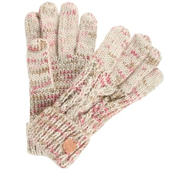 Regatta Women's Frosty II Knit Gloves LightVanilla