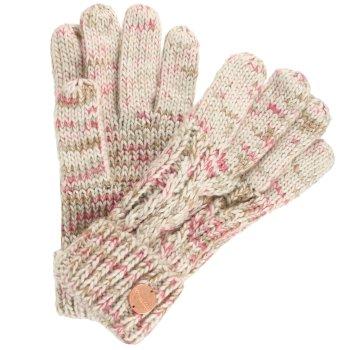 Regatta Women's Frosty II Knit Gloves - LightVanilla