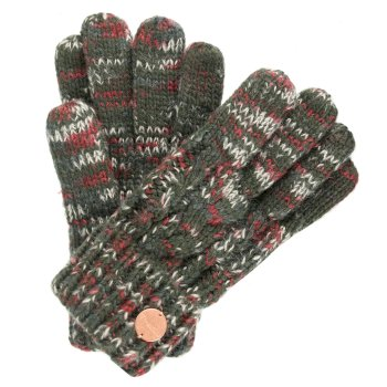 Regatta Women's Frosty II Knit Gloves - Dark Khaki