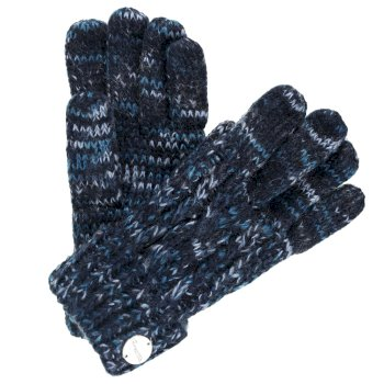 Regatta Women's Frosty II Knit Gloves Navy