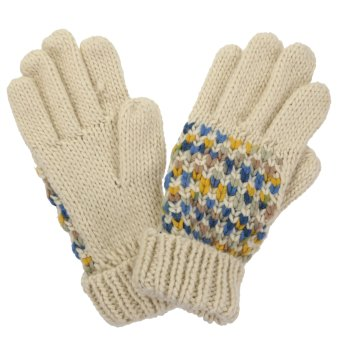 Regatta Women's Frosty III Knitted Gloves - Light Vanilla