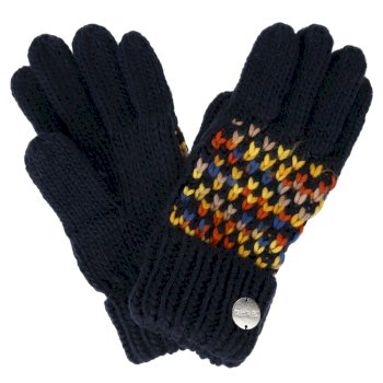Regatta Women's Frosty III Knitted Gloves - Navy