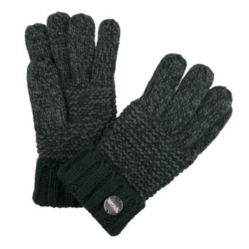 Regatta Women's Frosty IV Acrylic Knit Gloves - Darkest Spruce