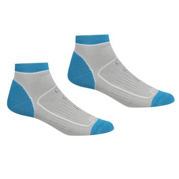 Regatta Women's Samaris Trail Socks - Light Steel Niagra Blue