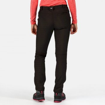 Regatta Women's Fenton Softshell Walking Trousers Black