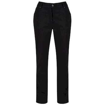 Regatta Damira Cotton Trousers Black