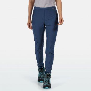Pentre - Damen Stretch-Wanderhose Blau