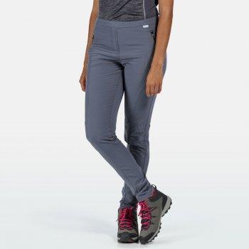 Pentre - Damen Stretch-Wanderhose Grau