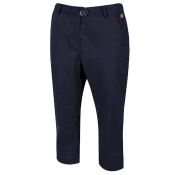 Regatta Maleena Capri Trousers Navy