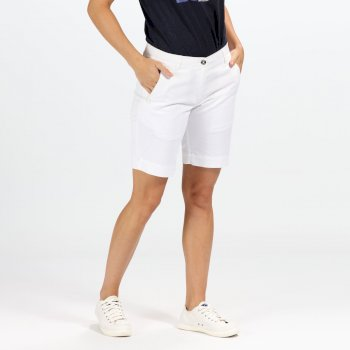 Regatta Women's Solita Casual Shorts - White